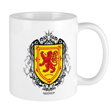Rampant Lion Tribal Mug