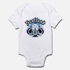 Scotland Skull & Ace Infant Bodysuit
