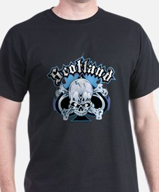 Scotland Skull & Ace T-Shirt