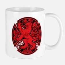 Scottish Iron Cross Red Mug
