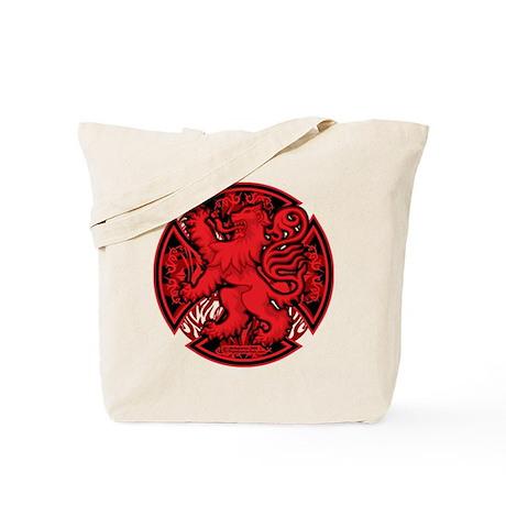 Scottish Iron Cross Red Tote Bag