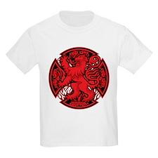 Scottish Iron Cross Red T-Shirt