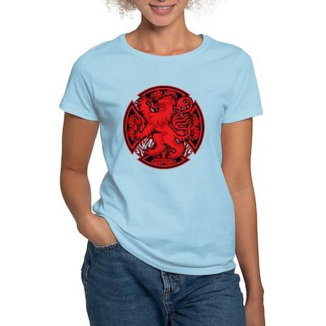 Scottish Iron Cross Red Women's Light T-Shirt