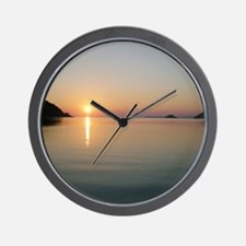 Mamma Mia! Skopelos Sunset Wall Clock