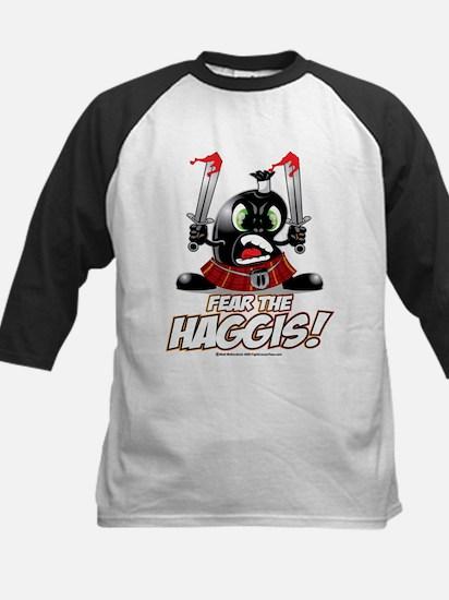 Fear The Haggis! Kids Baseball Jersey