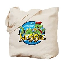 Nessie A Wee Monster Tote Bag