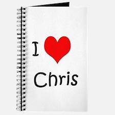 I Love Chris Journal