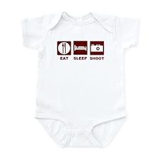 Eat Sleep Shoot Infant Bodysuit