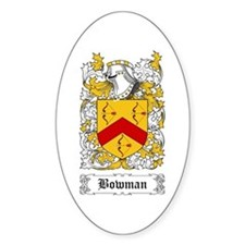 Bowman [Scottish] Decal