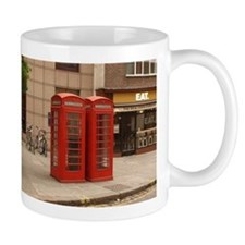 Cute Red phone booths Mug