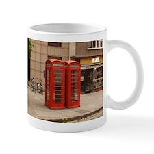 Unique London phone boxes Mug