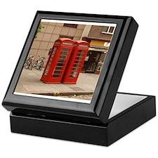 Cute Phone booth Keepsake Box