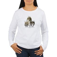 Lions, Tigers & Bears Women's Long Sleeve T-Shirt