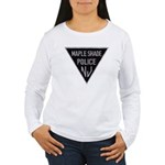 Maple Shade Police Women's Long Sleeve T-Shirt