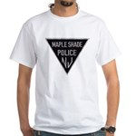 Maple Shade Police White T-Shirt