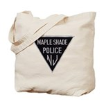Maple Shade Police Tote Bag