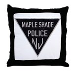 Maple Shade Police Throw Pillow