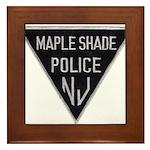Maple Shade Police Framed Tile