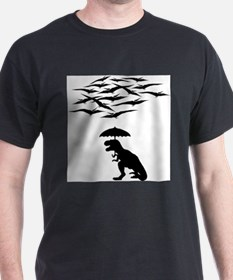 T-Rex vs the Pterodactyls T-Shirt