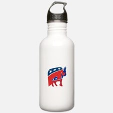 Unique Democratic donkey Water Bottle