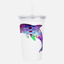dolphin.png Acrylic Double-wall Tumbler