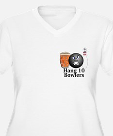 Hang 10 Bowlers Logo 10 T-Shirt