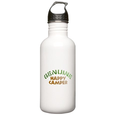 Genuine Happy Camper Stainless Water Bottle 1.0L