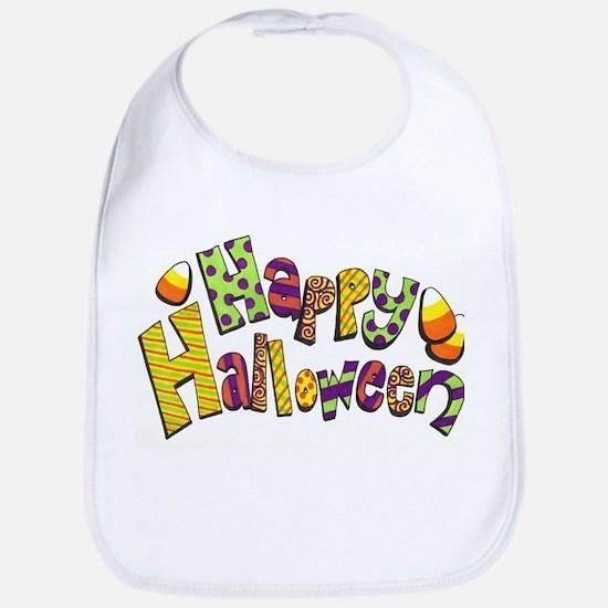 Happy Halloween Bib