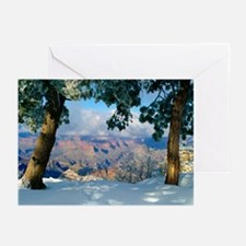 5x7 Note Cards (Pk of 10) Snowy Canyon