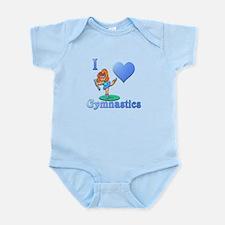 I Love Gymnastics #1 Infant Bodysuit