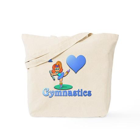 I Love Gymnastics #1 Tote Bag