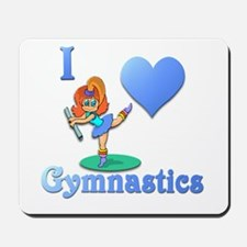 I Love Gymnastics #1 Mousepad