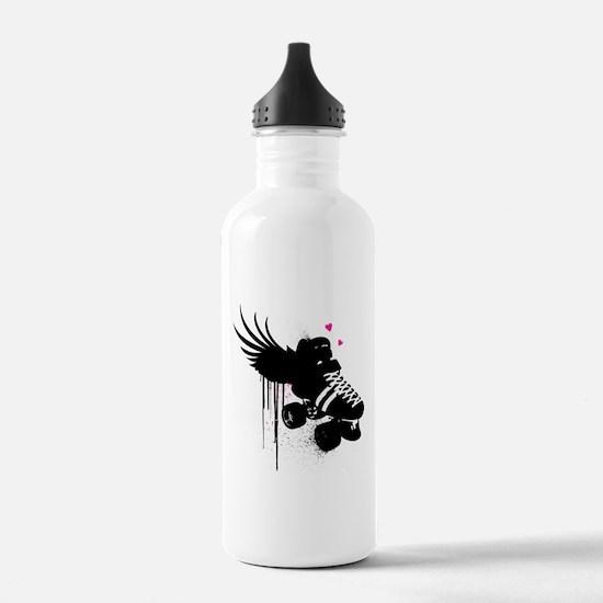Love to Skate Water Bottle