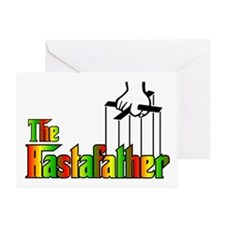 The Rastafather Greeting Card