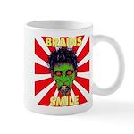 ZOMBIE-BRAINS-SMILE Mug