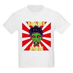 ZOMBIE-BRAINS-SMILE Kids Light T-Shirt