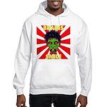 ZOMBIE-BRAINS-SMILE Hooded Sweatshirt