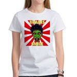 ZOMBIE-BRAINS-SMILE Women's T-Shirt