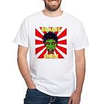 ZOMBIE-BRAINS-SMILE White T-Shirt