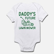 Daddy's Future Lawn Mower Body Suit