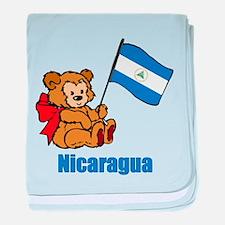 Nicaragua Teddy Bear Infant Blanket