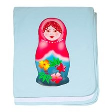 May Day Nesting Doll Infant Blanket