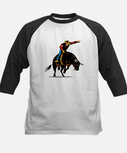 Rodeo cowboy bull riding Tee