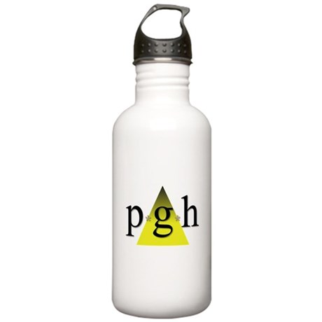Pittsburgh Golden Triangle Stainless Water Bottle