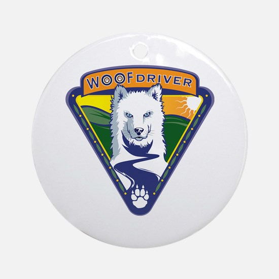 WoofDriver WooF Ornament (Round)