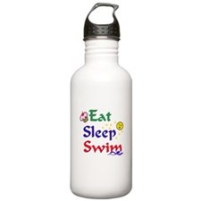 Eat Sleep Swim Stainless Water Bottle 1.0L
