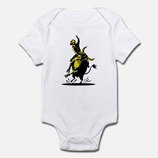 Rodeo cowboy bull riding Infant Bodysuit