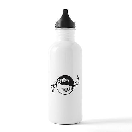 Yin Yang Guitar Basics Stainless Water Bottle 1.0L