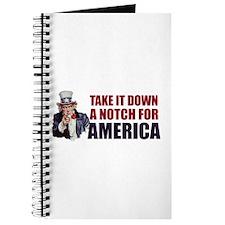Take it down a notch for America Journal