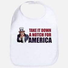 Take it down a notch for America Bib
